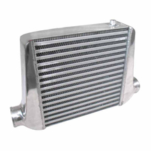 "Universal Car Intercooler Turbo 18.5 ""x11.75 \"" x2.5 \""Aluminium Front Mount"