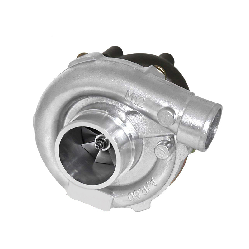 شاحن توربو مبرد عالمي T3 يعمل بالنفط T3 Inlet Flange 4 Bolt Outlet .50AR ضاغط .48AR Turbine Supercharger