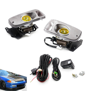 Driving Clear Lens Fog Lamp Fog lights For Honda Civic 2 Door Coupe 92-95