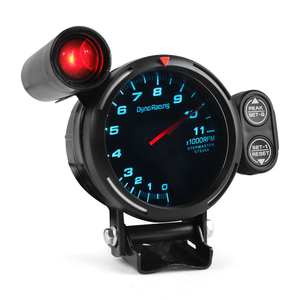 80MM Tachometer RPM Gauge High Speed stepper motor 7 Colors 0-11000 RPM Meter With Shift Light and Peak warning