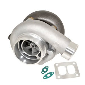 Universal T4 T04Z A / R .70 Dual Journal Bearing 4 bolt Turbocharger Compressor Boost Engine Supercharger